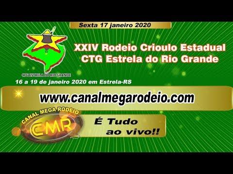 XXIV Rodeio Crioulo Estadual - CTG Estrela do Rio Grande - Estrela-RS 17/01/2020 sexta -feira