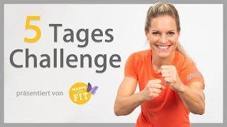 Deine kostenlose 5-Tages-Challenge mit Corinna Frey
