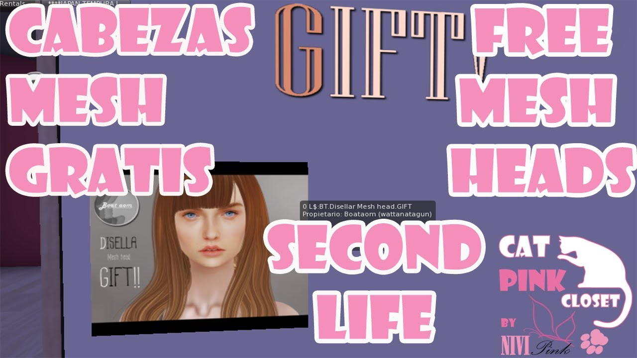 Cabezas Mesh Free/Free Mesh Heads - Second Life