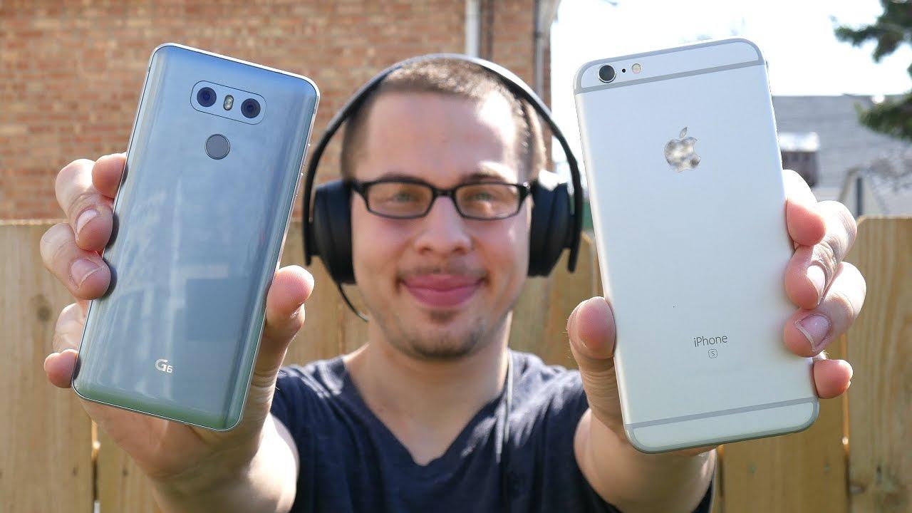 lg g6 vs iphone 6s plus benchmark