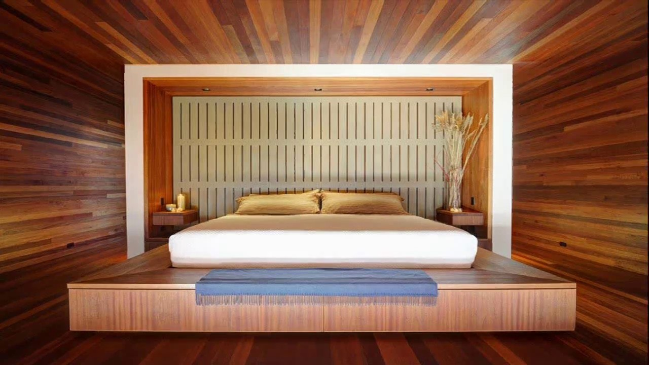 Japanese Bedroom Design For Small Space - YouTube