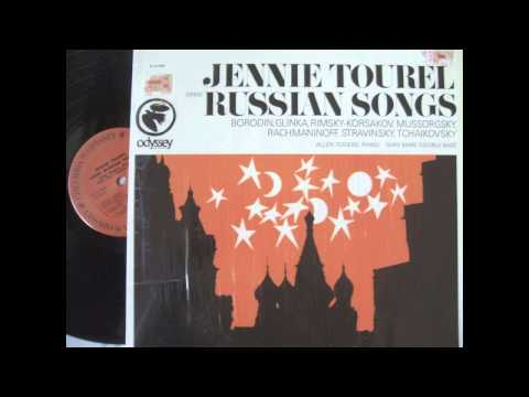 Jennie Tourel and Gary Karr - Five Russian Songs, rec.1967