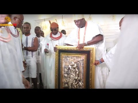 OBA OF BENIN SHARES REASON FOR HIS VISIT TO OONI OF IFE