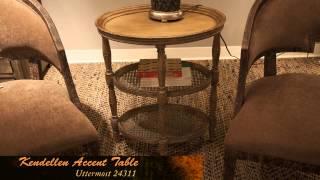 Uttermost 24311 - Kendellen Antique Accent Table