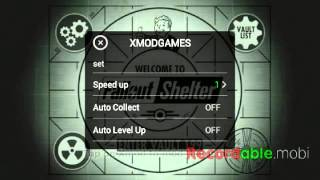 [Android] Fallout Shelter Mod: Speed UP Auto Collect, Auto Level UP By Xmodgames