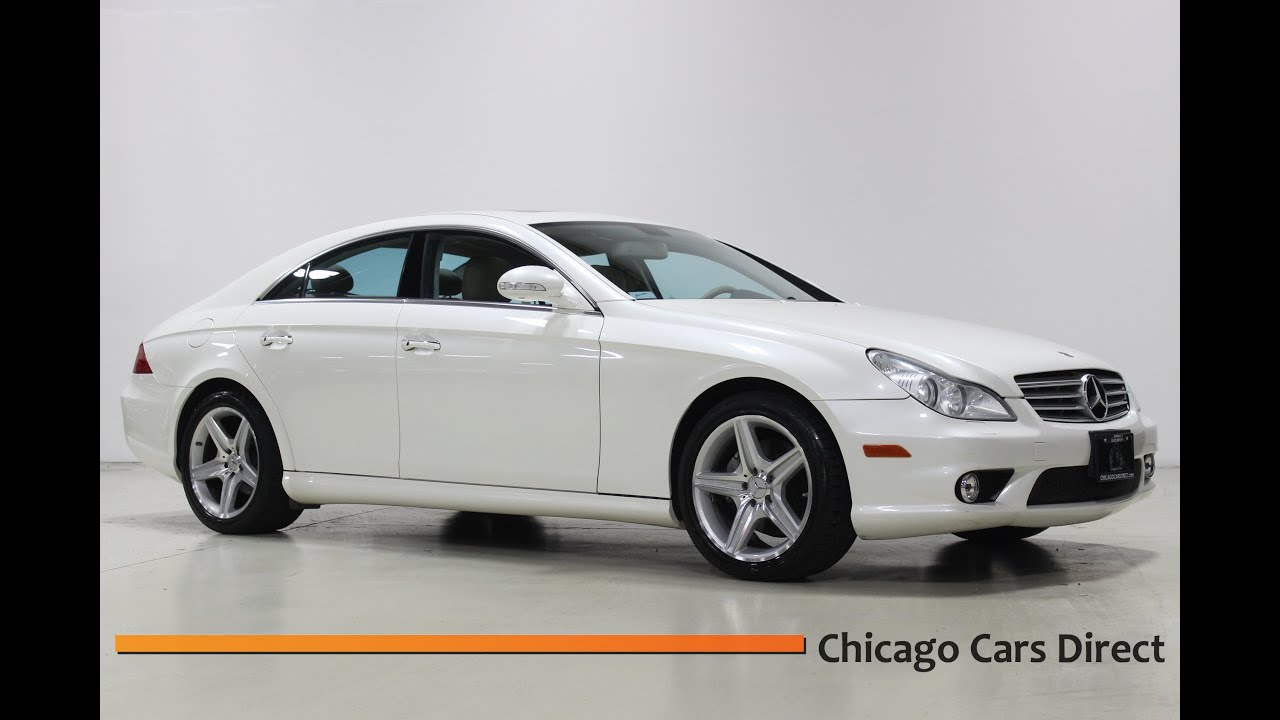 Chicago Cars Direct Presents A 2008 Mercedes Benz Cls550 Cls Class Diamond White Edition Youtube