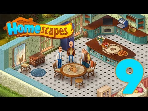 HOMESCAPES STORY WALKTHROUGH - PART 9 GAMEPLAY - ANTIQUE ?