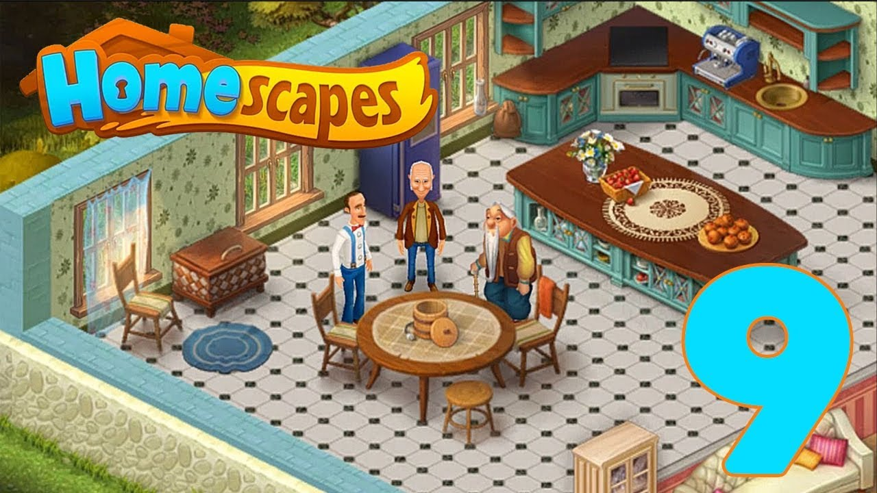HOMESCAPES STORY WALKTHROUGH - PART 9 GAMEPLAY - ANTIQUE ...