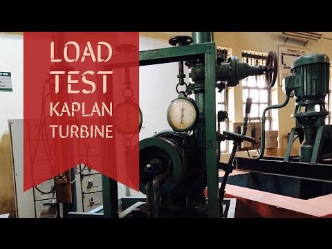 Load Test on Kaplan turbine : FM Lab experiments