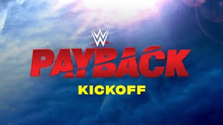 WWE Payback Kickoff: Aug. 30, 2020