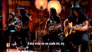 Slash - Not For Me (Subtitulado en Español)