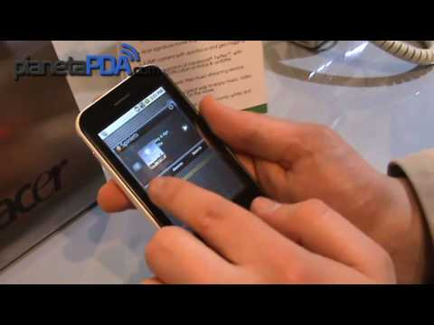 Acer BeTouch E400 Android Hands on