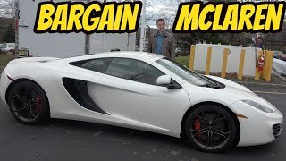 I Bought the Cheapest McLaren MP4-12C in the USA: BROKEN