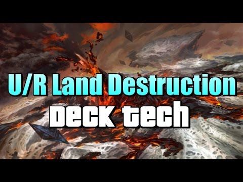 Mtg Deck Tech: U/R Baral's Land Destruction in Aether Revolt Standard!