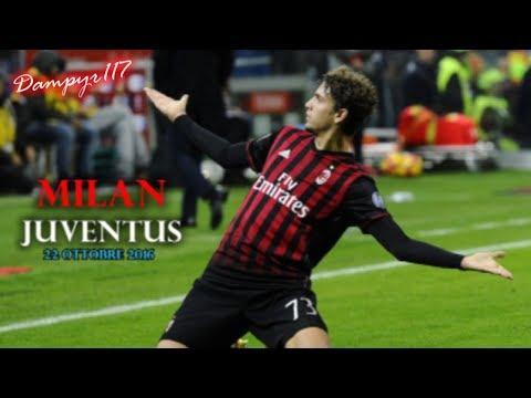 Milan - Juventus 1-0 (SANDRO PICCININI) 2016/2017