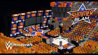 WWE: Minecraft [SummerSlam 2018 + (Crowd)] + (Download Link /PC/MCPE)