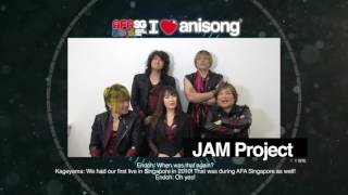 AFASG16 JAM Project will rock your night at Anime Festival Asia Sin...