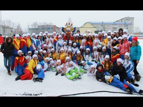 Открытие Зимней Олимпиады Алтайского края 2016