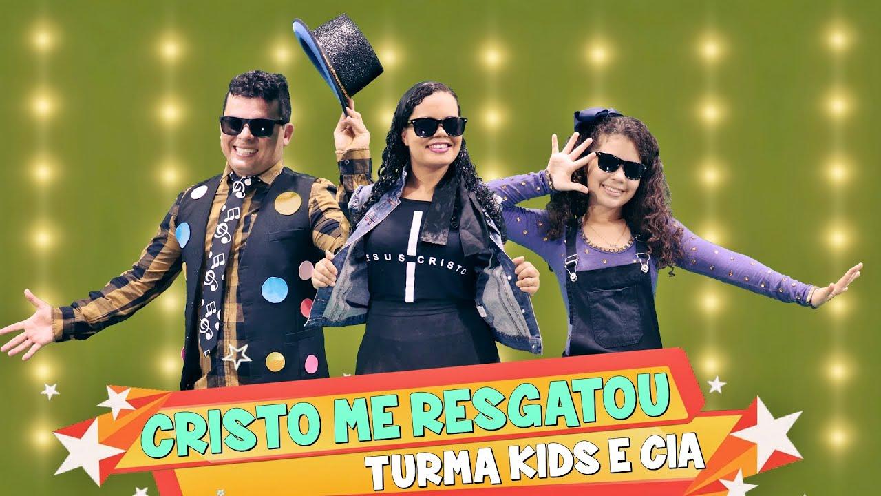 Cristo me Resgatou ♪ Turma Kids e Cia - Clipe + Coreografia Gospel Infantil