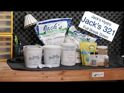 Jacks Hydro | Jacks 321 | Universal Hydroponic Nutrients