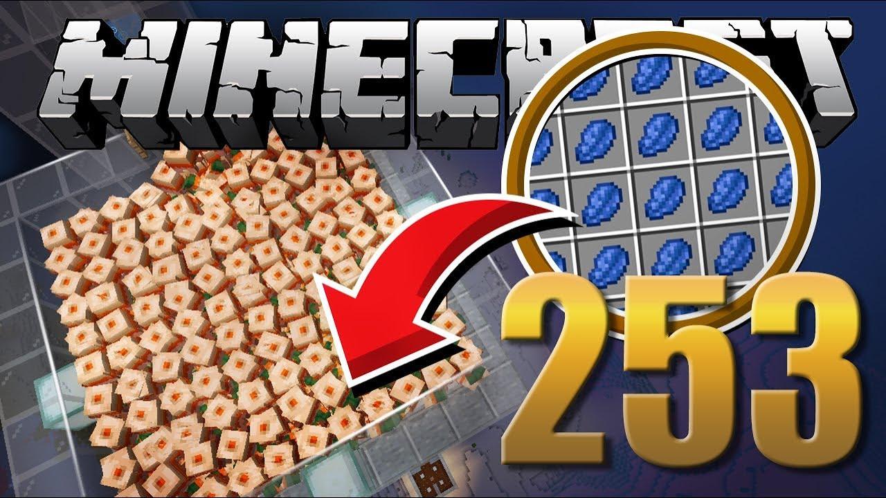Farm De Lapis Lazuli Minecraft Em Busca Da Casa Automática 253 Youtube