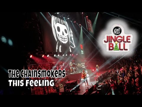 The Chainsmokers - This Feeling | KDWB Jingle Ball | StewarTV
