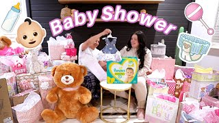 BABY SHOWER HAUL! Opening our Gifts!