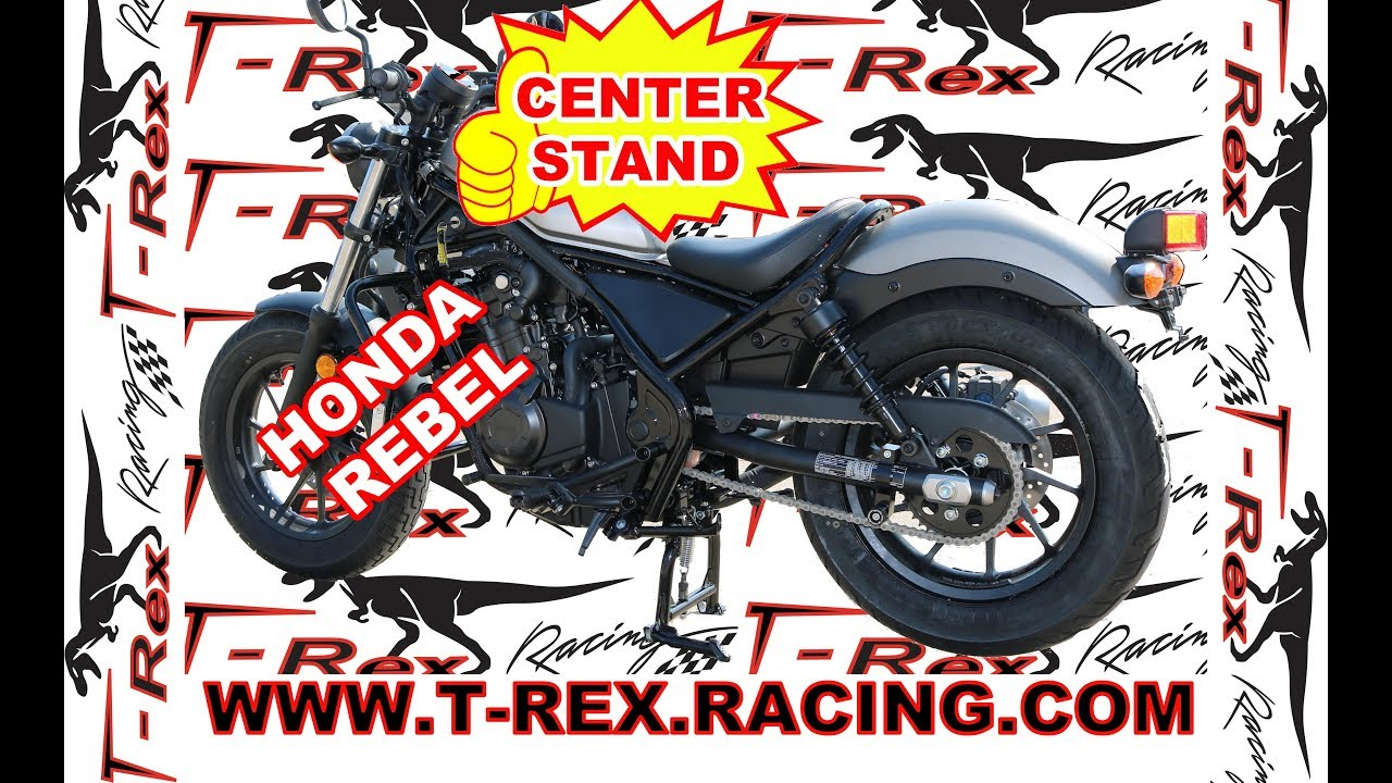 T-Rex Racing Black Rear Motorcycle Stand V