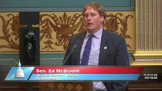 Sen. McBroom comments on new order re-opening the Upper Peninsula