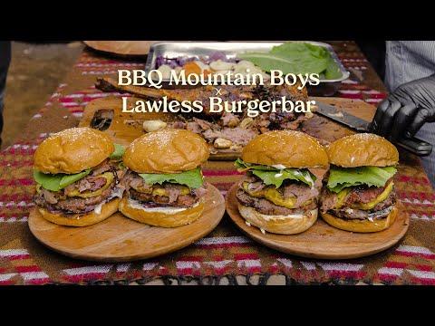 BBQ Mountain Boys X Lawless Burgerbar