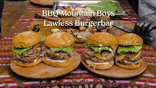 BBQ Mountain Boys X Lawless Burgerbar