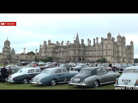 60th Anniversary Rolls-Royce Silver Cloud Bentley S Burghley House June 20, 2015