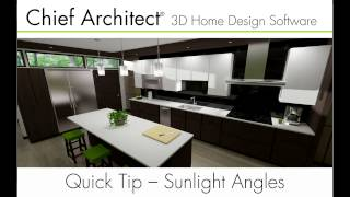 Gambar cover Modifiying Sunlight Angles in Chief Architect