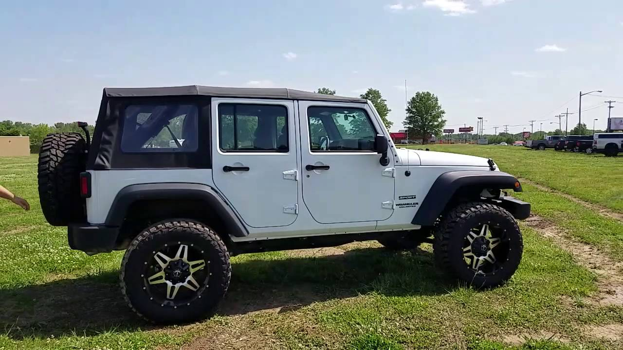 2016 Jeep Wrangler Unlimited - 4