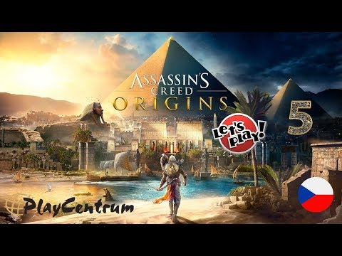 Assassin's Creed Origins CZ | Xbox One X - Enhanced Graphics | CZ Let's Play 5. část