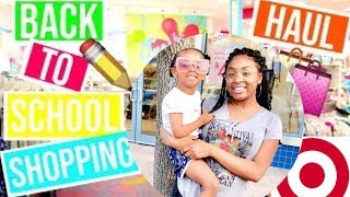 BACK TO SCHOOL SHOPPING VLOG!