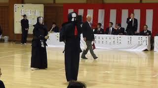 第16回 神奈川県剣道祭 七段の部 浅山茂(横須賀)対高橋由美子(南区)