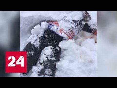 В Кабардино-Балкарии нашли тело сноубордиста, сорвавшегося со скалы