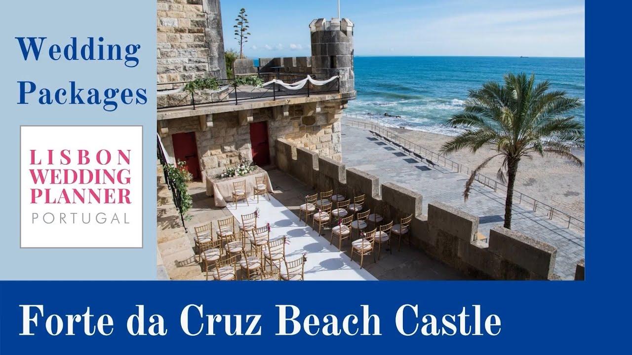Forte da Cruz Beach Castle Wedding Packages ~ by Lisbon Wedding Planner