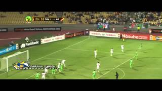 ملخص مباراة تونس والجزائر 1-0 امم افريقيا 2013 - HD -