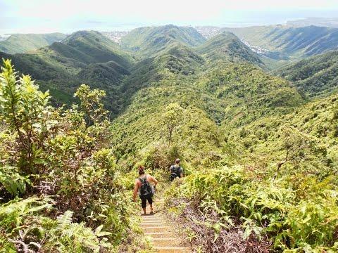 howzitboy hikes:Hawaii Loa Ridge
