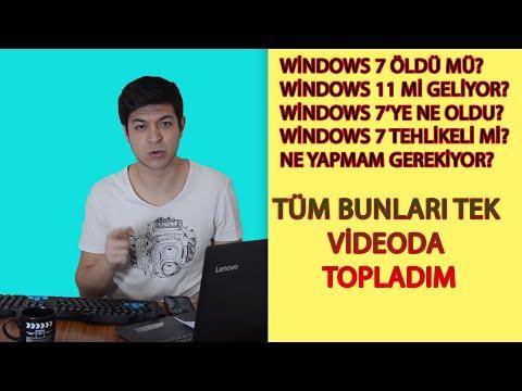Microsoft Windows7'nin fişini çekti/ Windows 10'a geçin!!