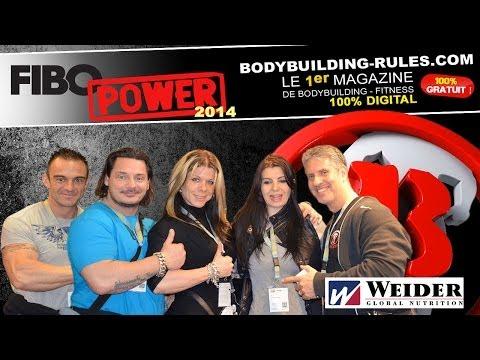Reportage FIBO 2014 pour le Magazine Bodybuilding Rules