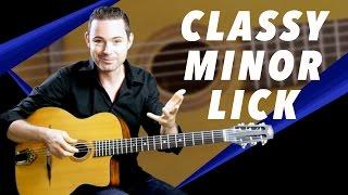 a classy minor lick gypsy jazz guitar secrets lesson