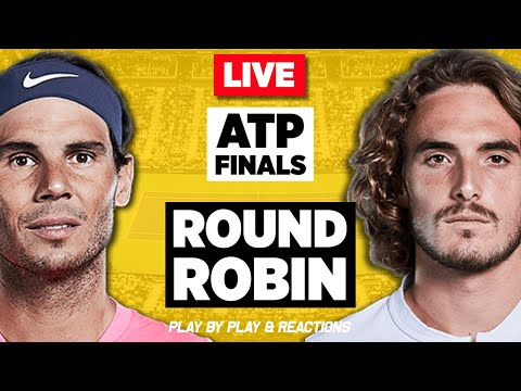🔴 NADAL Vs TSITSIPAS | ATP Finals London 2019 | LIVE Tennis Stream Play-by-Play