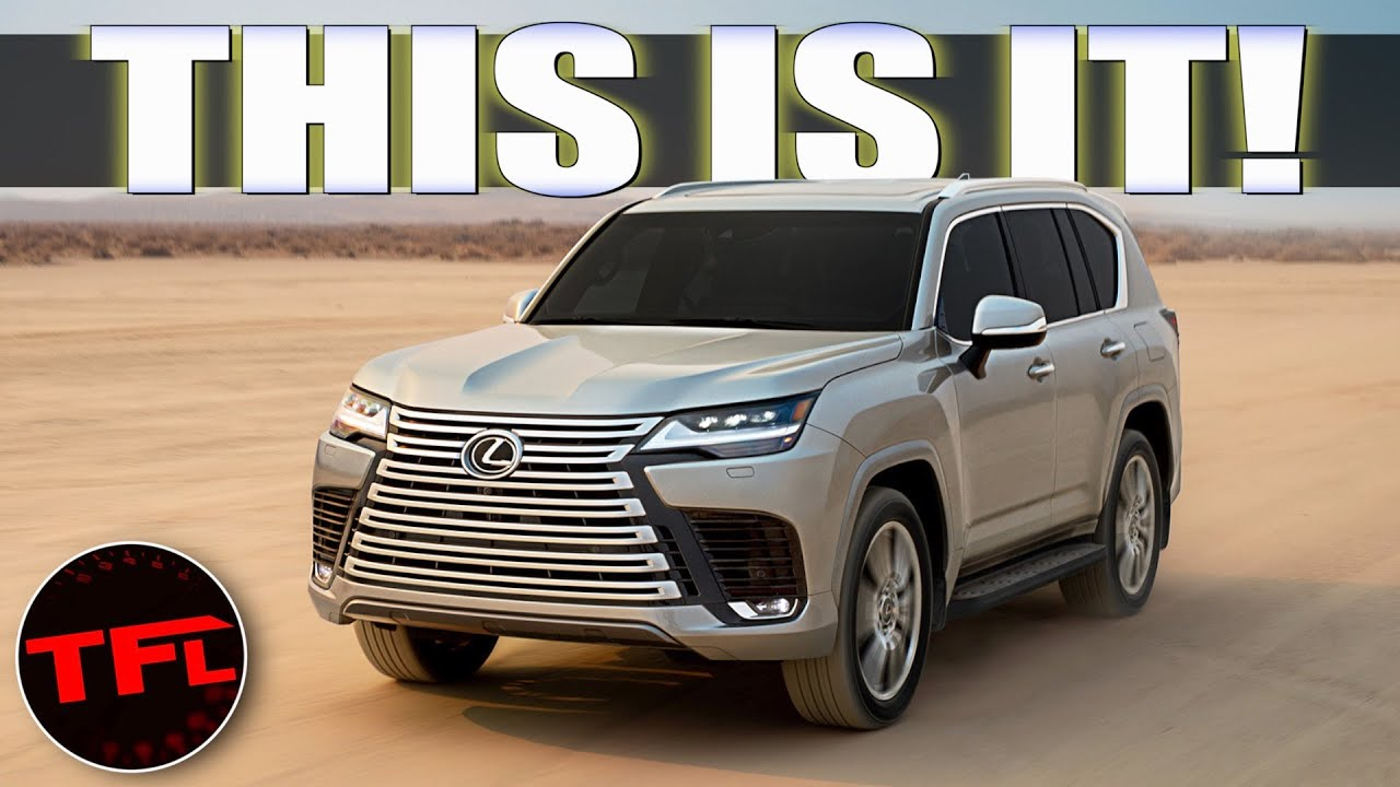 Download 2022 Lexus LX 600 WORLD PREMIERE: The Land Cruiser We Can Actually Buy Has Officially Arrived!