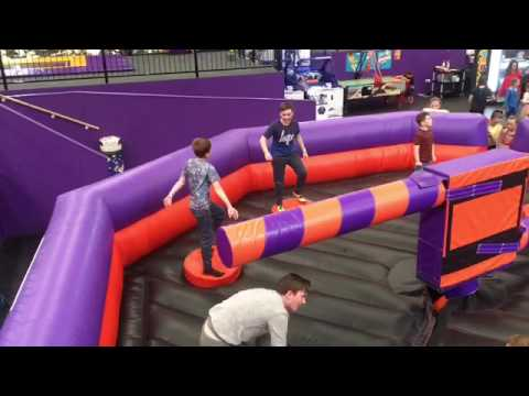 Velocity Trampoline park (Gone Wrong) and really injured my leg must watch