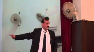 Mr. Nafeer Malik(Principal Quaid-e-Azam Law College Lahore)Delivered Lecture On Qanoon-e-Shahadat
