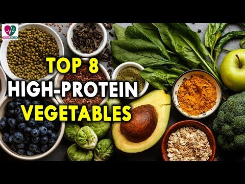 Top 8 High Protein Vegetables Best Healthy Foods for Strong Body