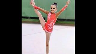 Мужественной маленькой гимнастке посвящается.